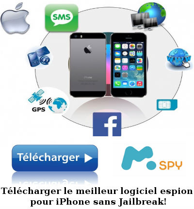 espionner sms iphone 6s Plus