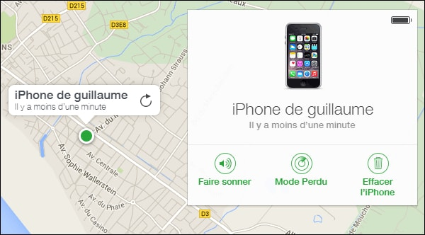 comment localiser iphone ami sans autorisation