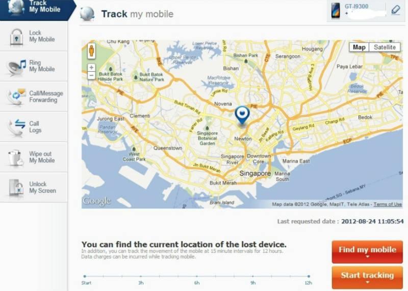 Localiser Samsung