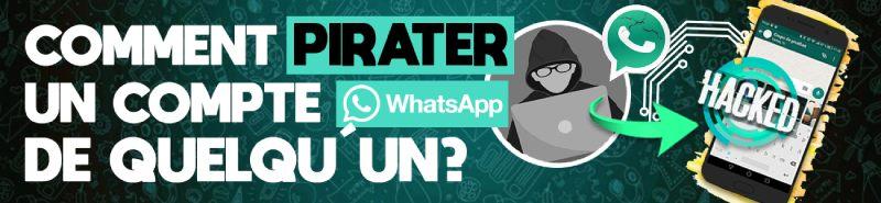 pirater un compte whatsapp